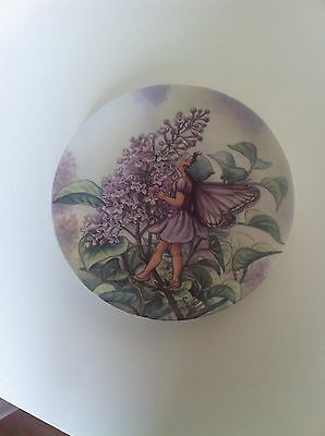 Wedgwood World Of Flower Fairies Plate The Lilac Fairy Cicely Mary Barker 1994