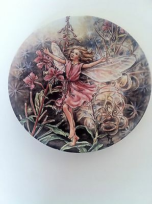 Wedgwood World Of Flower Fairies Plate The Rose-Bay Willow- Herb Fairy 1996