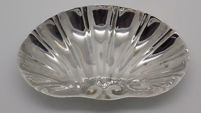 Vintage Solid Silver Shell Shaped Mini Bowl - Stamped - Made in Italy