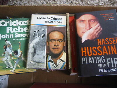 Over 100 Cricket Books/booklets/publications Check Photo's Collect Stockport