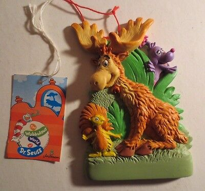 Dr Seuss Thidwick The Moose Ornament New With Tags