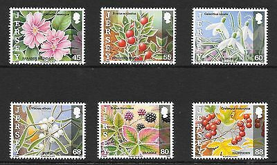 Jersey: 2013 Frosts & Nature Stamp Set Mnh