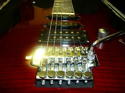 Jackson Electric Guitar with Jackson Hard Case Right Handed