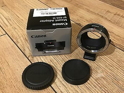 Genuine Canon EF - EOS M Lens Adapter Mount EF-S