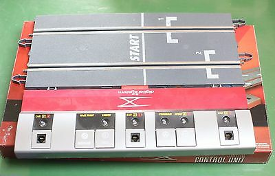 scx digital control unit and track cars 1 & 2 & 3 or 4-5-6