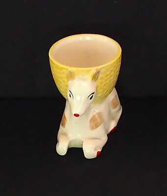 Rare Vintage Egg Cup - Fawn - Made In England
