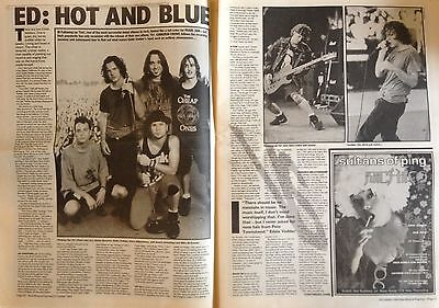 Pearl Jam - Magazine Interview - NME 1993