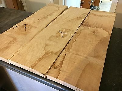 Project pack - 3no Oak Timber Boards / Crafts / wood