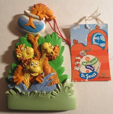 Dr Seuss One Fish & The Whozits Ornament New With Tags