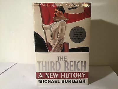 The Third Reich  - Michael Burleigh Paperback Sealed Set of 2 Books