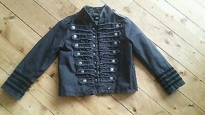 H&M H and M military jacket age 5 to 6 unisex boys girls