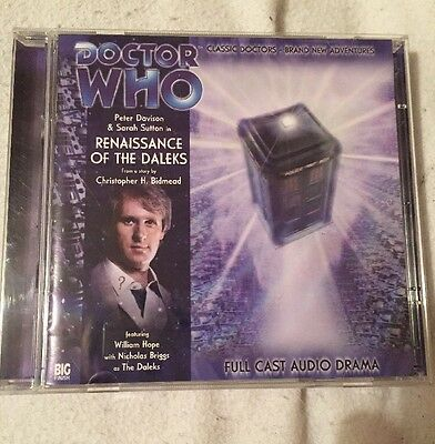 Doctor Who RENAISSANCE OF THE DALEKS Big Finish Audio CD 93
