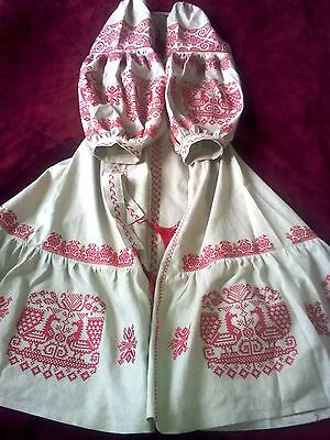 Ukrainian embroidery, embroidered dress (or blouse), XS - 4XL, Ukraine