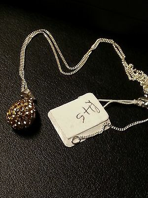 Sterling Silver pendant and chain - New