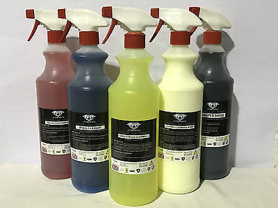 Stonewhit Perfect Bodywork Wheel Interior Collection Valeting Kit Car Care Clean