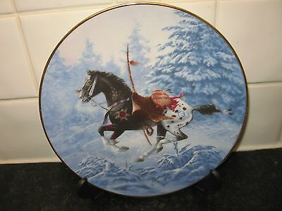 Warriers Pride Horse   Plate  - Running Free    - Hamilton