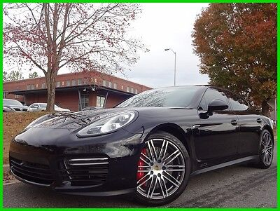 2015 Porsche Panamera CLEAN CARFAX WE FINANCE TRADES WELCOME 4.8L V8 SUNROOF BOSE SOUND HEATED & VENTED SEATS NAVIGATION BACKUP CAMERA BT