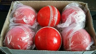 cricket leather balls 5.5oz ×6  exellent quilaty.