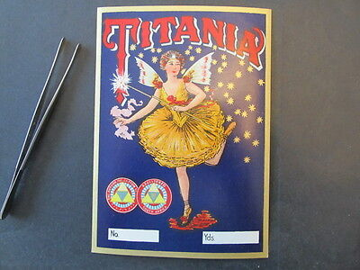 Titania Cotton, South Africa, Reproduction Poster Stamp, Mng