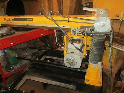 DEWALT 728 240 volt Radial arm saw