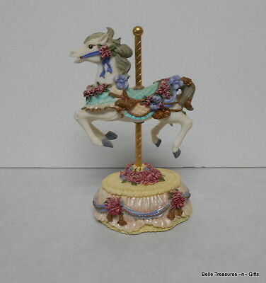 Carousel Horse Figurine Melodies County Fair Collection