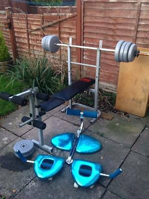 Pro Power + Total Tiger Weight Bench/Workout