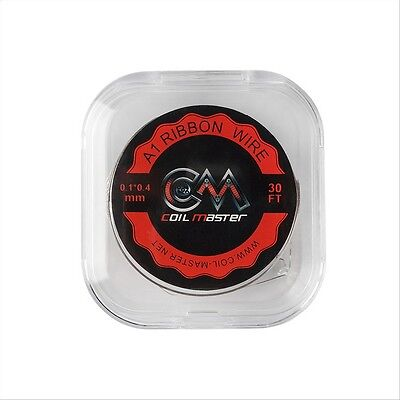 Original Coil Master Wickel-Draht Kanthal A1 - Ribbon (Flach), Coilmaster Wire