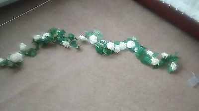 Battery operated rose garland X 2