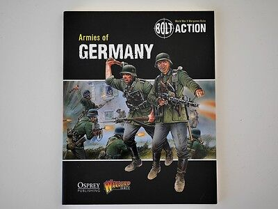 Bolt Action - Warlord Games - Armies of Germany