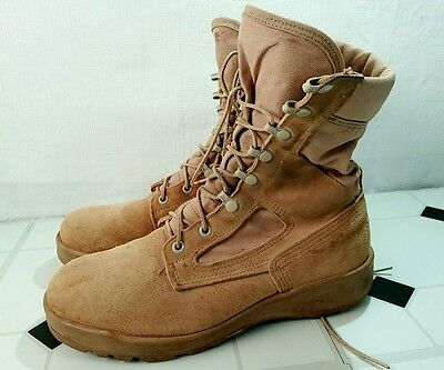 Belleville Military Tan boots 7w