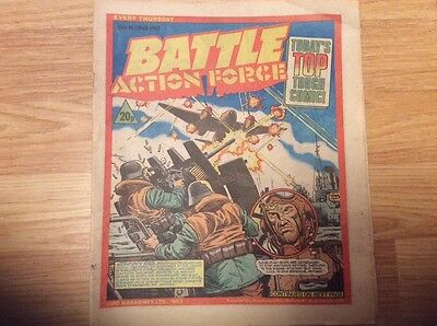 battle action force 29th october 1983