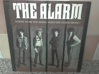 The Alarm ‎– Where Were You Hiding When The Storm Broke? I.R.S. Records ‎