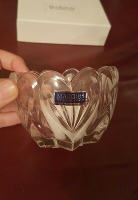 Marquis waterford crystal candle holder BNIB