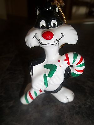 VINTAGE 1977 LOONEY TUNES SYLVESTER CHRISTMAS ORNAMENT DAVE GROSSMAN w box
