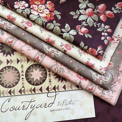QUILTING Courtyard by 3 Sisters Moda Fabrics 100% cotton for Sewing & Patchwork