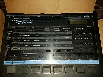 Korg Ddd-5 Drum Machine