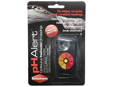 SEACHEM pH ALERT CONTINUOUS MONITOR SENSOR Test AQUARIUM FISH TANK