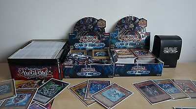 Yugioh! Massive Collection 500+ Cards Rare Holos Ghost Rares!!!