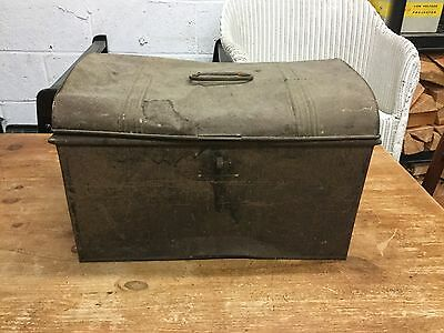 Old Metal Copperised Dome Trunk