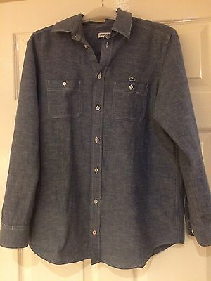 Boys Lacoste Long Sleeved Shirt Age 14 Years