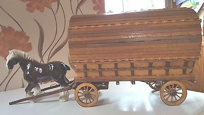 hand crafted romany caravan