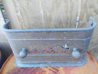antique Copper/ Brass fire place front