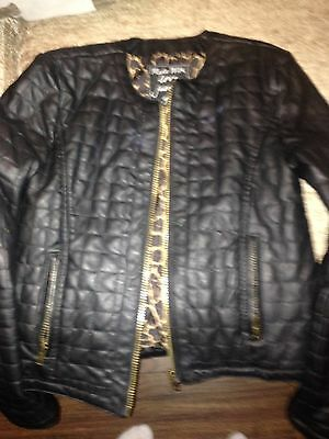 girls leather jacket age 12