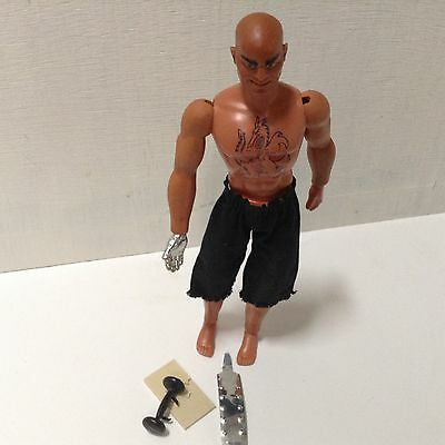 BIG JIM  original outfit figure ☆DR STEEL☆ MEGA RARE great conditions!