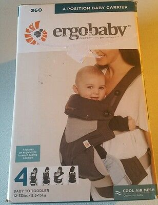 Ergobaby 360 Four Position, Ergo Baby Carrier,  / COOL AIR GREY
