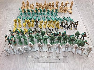 Toy Soldiers Job Lot Apprx 100