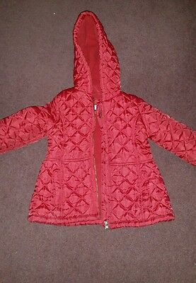 Quilted girls coat 3-4