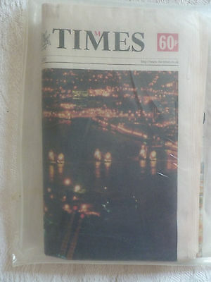 """The Times"" ""Millennium edition"" 01.01.2000"