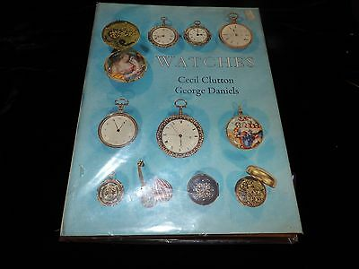 Watches By Cecil Clutton & George Daniels Vintage Pocket Watch Book 1965