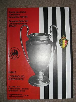 1985 European Cup Final - Liverpool v Juventus